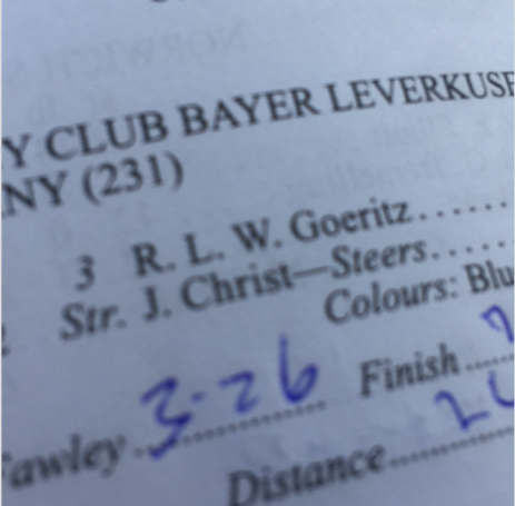 Bayer Leverkusen stroke is J. Christ