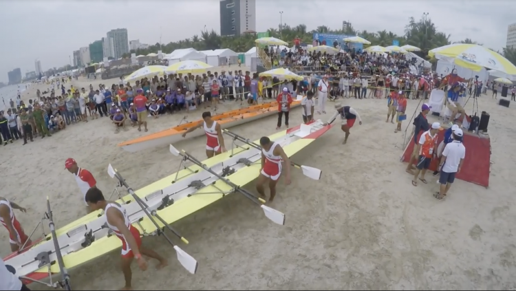 rowing, beach sprint rowing,