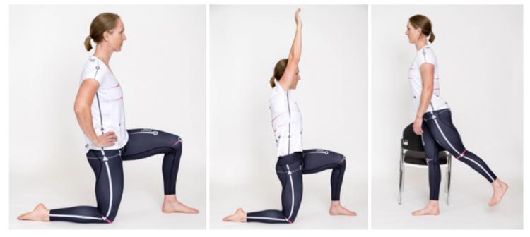 Hip Flexor Stretches, rowing hip flexor