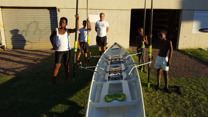 Rowing in Africa
