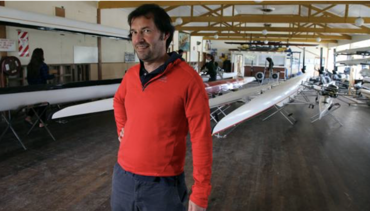 Pedro Figueira, rowing coach