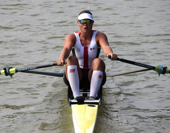 Fie Udby Erichsen, Women's Single Sculls, Denmark, 2018 World Rowing Championships, Plovdiv, Bulgaria
