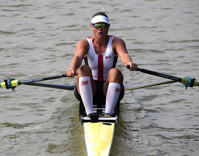 Fie Udby Erichsen, Women's Single Sculls, Denmark, 2018 World Rowing Championships, Plovdiv, Bulgaria