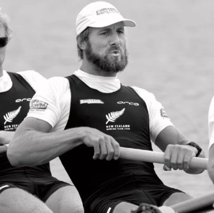 Good posture, sweep rowing, at finish rowing