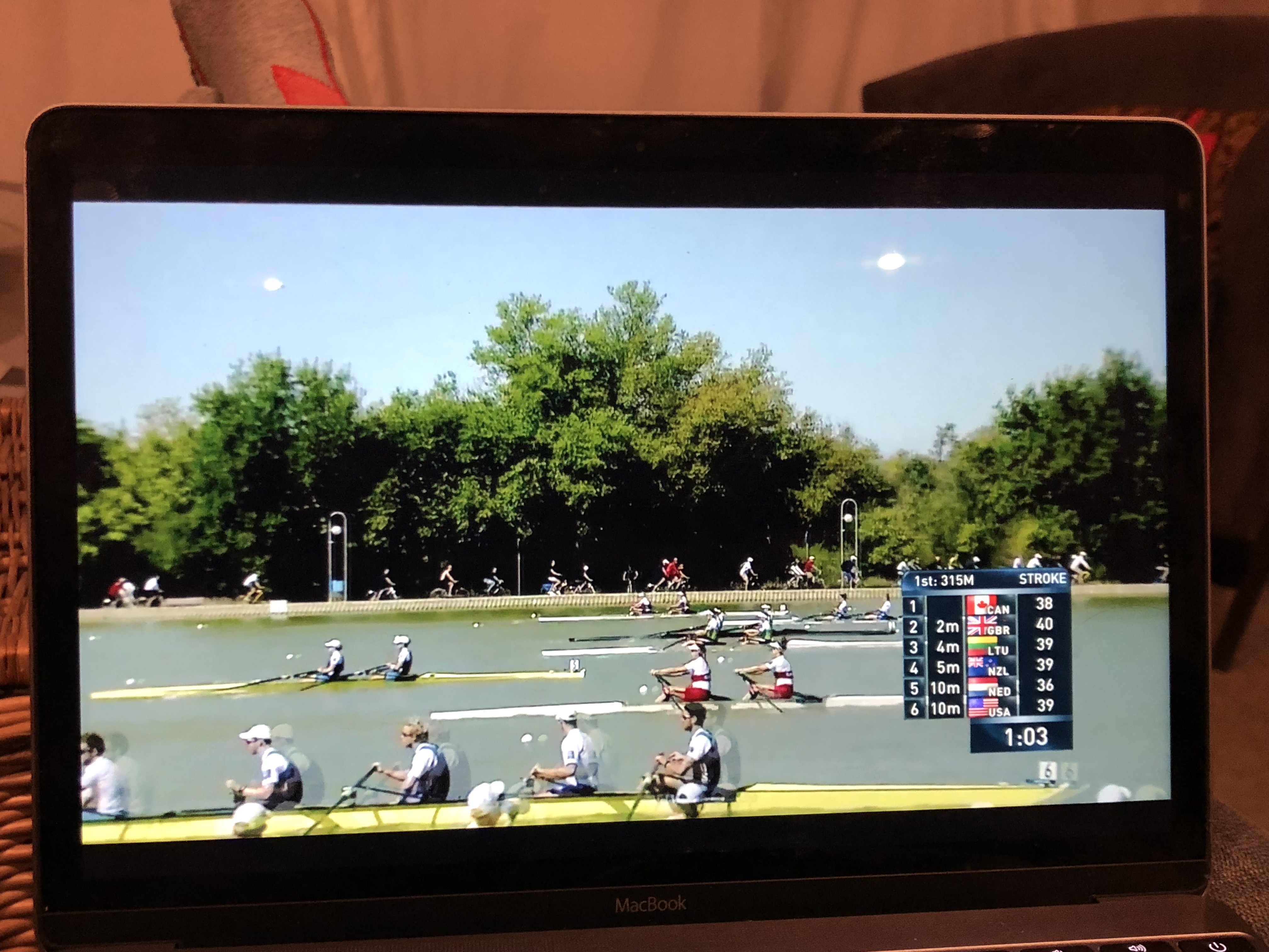 World Rowing TV coverage