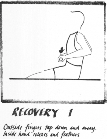 Rowing technique Recovery 1