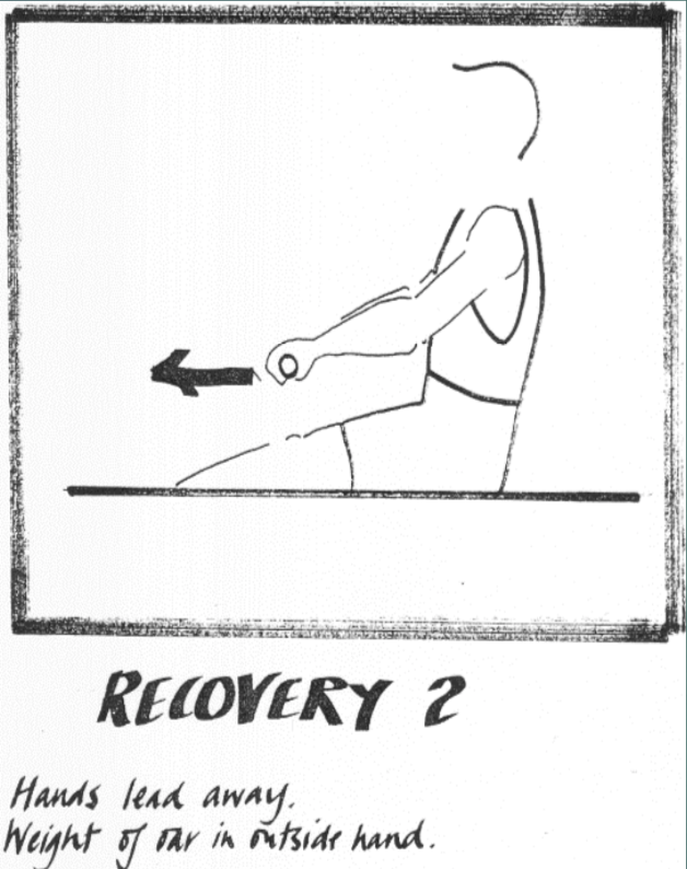 Rowing technique Recovery 2