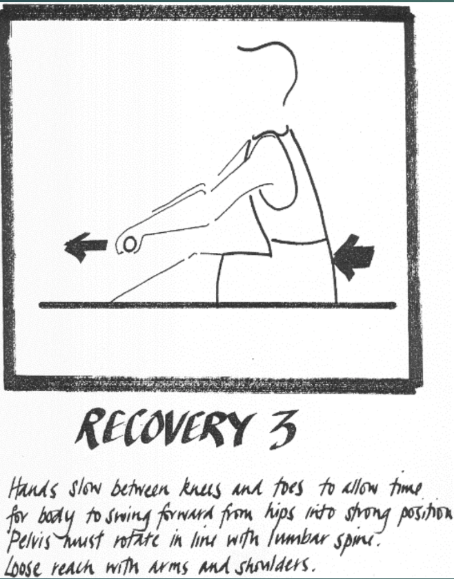 Rowing technique Recovery 3