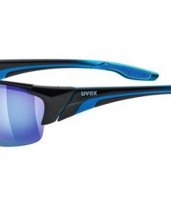 uvex blaze III - black blue