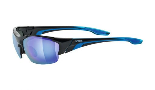 uvex blaze III - black blue