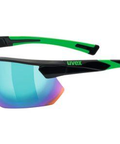 uvex sportstyle 221 - black green