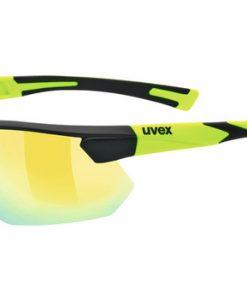 uvex sportstyle 221 - black yellow
