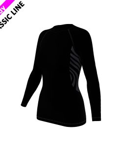 2skin Plain - Longsleeve - black - womens