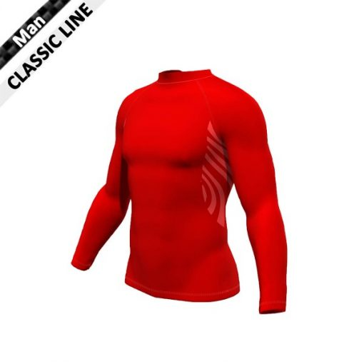 2skin Plain - Longsleeve - red