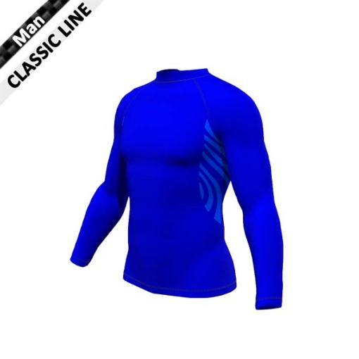 2skin Plain - Longsleeve - royal