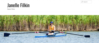 Janelle Filkin, rowing blogger , rowing coach.