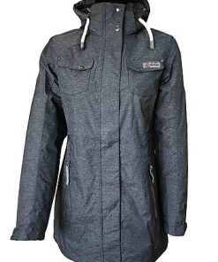 London Women's Melange Function-Coat anthracite