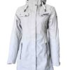 London Women's Melange Function-Coat white