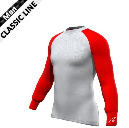 Mesh-Gamex Longsleeve - Red