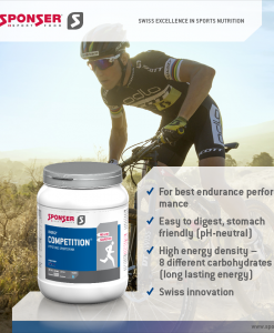 Sponser Energy Competition Hypotonic Sportdrink