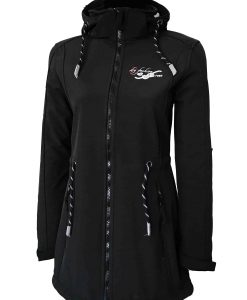 Sylt Damen Softshell-Mantel black