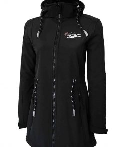 """Sydney Jacket"" Women's Softshell-Coat black"