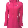 """Sydney Coat"" Women´s Melange Softshell-Coat red"
