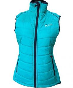 Women's Hybrid-Vest sea green