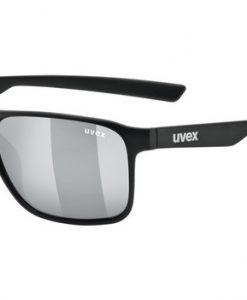 uvex lgl 33 pola - black silver