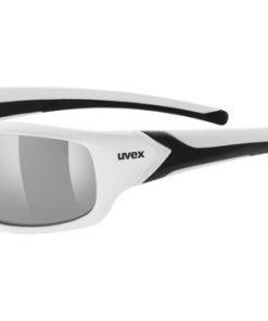 uvex sportstyle 211 pola - white/smoke