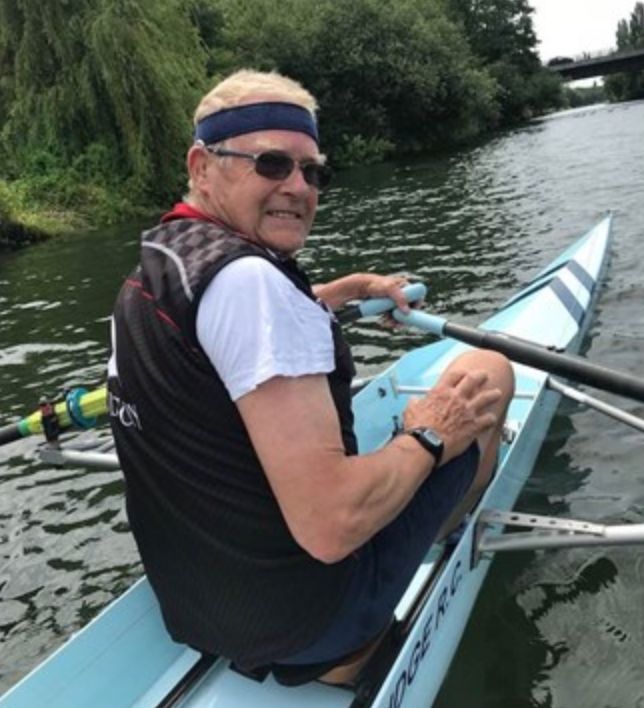 David Paul Hudson, Rower