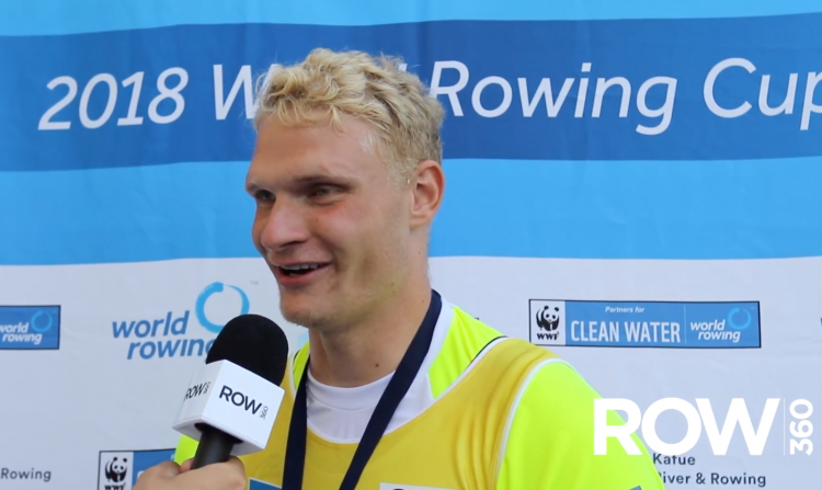 Oliver Zeidler, rowing chat, German rowing, Rowing World, Deutschland Rudern,