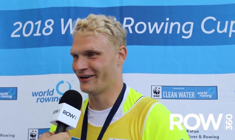 Oliver Zeidler, rowing chat, German rowing, Rowing World, Deutschland Rudern,