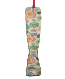 Gosch Shoes Sylt Ladies Rubber Boots with buckle in Multi Flower