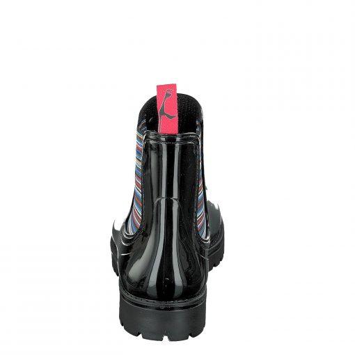 Gosch Shoes Sylt Women Shoes Rubber Chelsea Boots Black