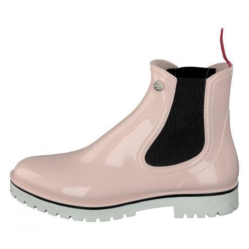 Gosch Shoes Sylt Women's Chelsea Rubber Leisure Rain Beach Boots Lilac