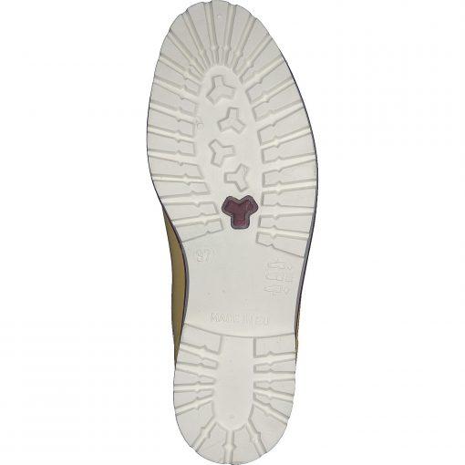 Gosch Shoes Sylt Women's Chelsea Rubber Leisure Rain Beach Boots Yellow