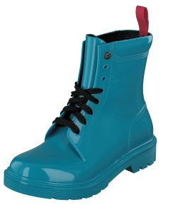Gosch Shoes Sylt Women's Shoes Leisure Walk Lace-up Rubber Beach Rain Boots Turquoise