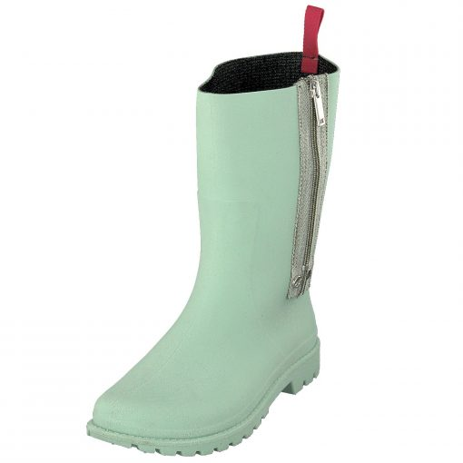 Gosch Shoes Sylt ladies rubber boots with zipper in light green