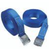 Tie down straps blue