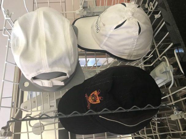 Wie reinige ich ruderkappen und Baseball Caps