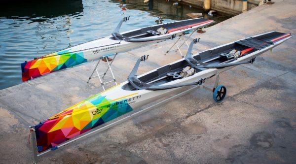 Coastal-boats launching pad